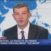 L'Édito éco de Nicolas Doze: La fiscalité en France est devenue Too Much