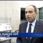 Jean-François Copé souhaite que Michel Sapin quitte ses fonctions.