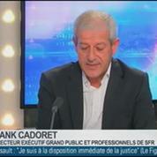 Internet très haut débit: le réseau de SFR est incomparable, Franck Cadoret, dans GMB