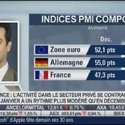 Analyse de la tendance en zone euro et des PMI: Gilles Moec, dans Intégrale Bourse
