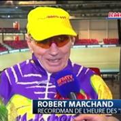 Robert Marchand améliore son record