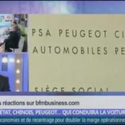 Etat, Chinois, Peugeot… qui conduira la voiture? dans Les décodeurs de l'éco – 3/5
