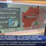 Harold à la carte: Les Talibans terrifient également les étrangers