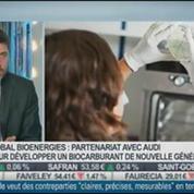 Global Bionergies signe un partenariat avec Audi pour développer la production d'Isooctane: Marc Delcourt, dans Intégrale Bourse –