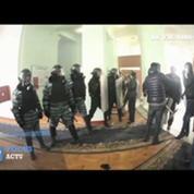 Ukraine: les manifestants à l'assaut de l'administration régionale