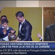 Le Soir BFM: Cristiano Ronaldo sacré Ballon d'Or 1/4