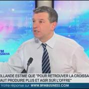 Nicolas Doze: Discours de Hollande: Aucun impact sur les finances publiques