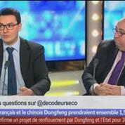 Etat, Chinois, Peugeot… qui conduira la voiture? dans Les décodeurs de l'éco – 2/5