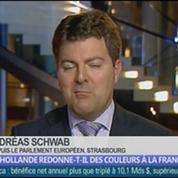 Hollande redonne-t-il des couleurs à la France? dans Les décodeurs de l'éco 3/5