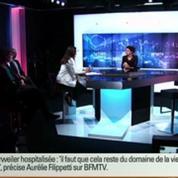 Trierweiler hospitalisée : le secret médical est «sacré» pour Aurélie Filippetti