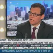 Stéphane Israël, Arianespace, dans L'Invité de BFM Business