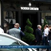 Huit hommes interpellés en flagrant délit de braquage près des Champs-Elysées