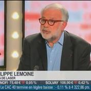 Philippe Lemoine, président directeur général de LaSer, dans Le Grand Journal – 3/4