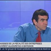 Le gouvernement est faible pour apporter et aborder une réforme qui a besoin d'être forte, Jean-Christophe Fromantin, dans GMB