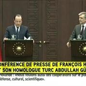 Hollande annonce un référendum sur l'adhésion de la Turquie à l'UE
