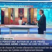 Politique Première: François Hollande: Sa vie privée abîme l'image du Chef de l'État