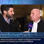 BFM Replay: affaire Zahia: Ribéry et Benzema peuvent tourner la page
