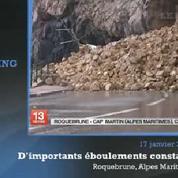 Intempéries : d'importants dégâts dans les Alpes-Maritimes
