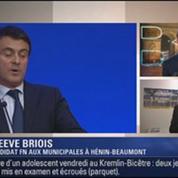 Le Soir BFM: Pourquoi le FN s'attaque-t-il à Manuel Valls ? 3/4
