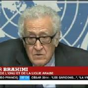 Genève II : Brahimi évoque un «début très modeste»