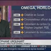 Le Paris de Stephen Urquhart, president directeur général d'Omega, dans Paris est à vous