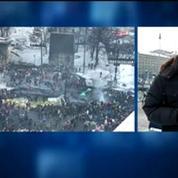 Ukraine: trêve de quelques heures entre manifestants et gouvernement