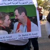 Conférence de Genève : des pro-Assad manifestent à Montreux