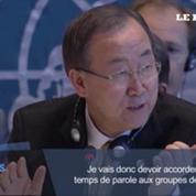Conférence de Genève : échange houleux entre Ban Ki-moon et un ministre syrien