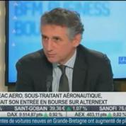Figeac Aero entre en Bourse sur Alternext: Jean-Claude Maillard, dans Intégrale Bourse