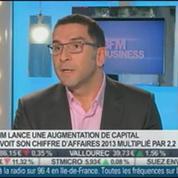 Vexim, hausse du chiffre d'affaires annuel et lancement d'une augmentation de capital: Vincent Gardès, dans Intégrale Bourse