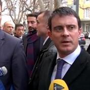 Manuel Valls en terres frontistes insiste sur la sécurité