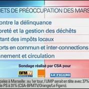 BFM Story: Sondage sur les élections municipales de 2014 à Marseille: Jean-Claude Gaudin en tête