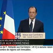 Hollande en Corrèze :