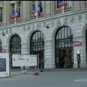 Une agression en gare Saint-Lazare à Paris