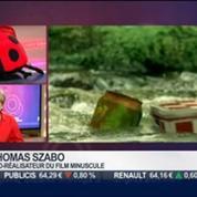 La sortie du jour: Thomas Szabo, co-réalisateur du film Minuscule, dans Paris est à vous –