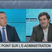 Le point sur l'e-administration: Gaël Sliman, Bruno Vanryb et Laurent Dechaux, dans 01Business 3/4
