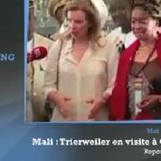 Trierweiler : une «première dame» sur le terrain de l'humanitaire