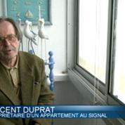 Soulac-sur-mer: l'érosion de la falaise gagne du terrain