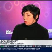 La sortie du jour: Pascale Henry, auteur de la pièce À Demain, dans Paris est à vous –