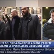 Le Soir BFM: Le préfet de Loire-Atlantique interdit le spectacle de Dieudonné 2/4