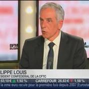 Philippe Louis, président confédéral de la CFTC, dans Le Grand Journal – 3/4