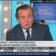 Un chiffre d'affaires annuel 2013 pénalisé par l'effet de change pour GL Events: Olivier Ginon, dans Intégrale Bourse –