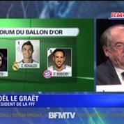 Ballon d'or / Le Graët : Je suis déçu pour Ribéry