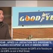 Le Soir BFM: Goodyear : les cadres libérés, l'usine toujours occupée 1/4