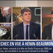 Le Soir BFM: Municipales à Hénin-Beaumont: le FN est en tête des intentions de vote au 1er tour 3/4