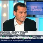 Forte croissance du chiffre d'affaires annuel d'Interparfums en 2013: Philippe Bénacin, dans Intégrale Bourse –