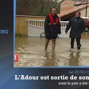 Inondations : les Landes, département le plus touché