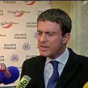 Délinquance : «L'insécurité est liée à des réseaux qui viennent de l'est de l'Europe» (Valls)
