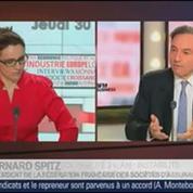 Bernard Spitz, président de la Fédération française des sociétés d'assurance, dans Le Grand Journal – 2/4