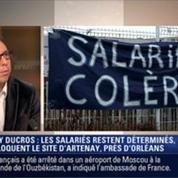 """Le Soir BFM: Mory Ducros: opération """"coup de poing"""" des syndicats 2/4"""